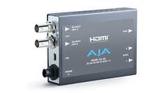 NEW NIB AJA Video Systems Hi5-3G 3G/Dual Link/HD-SD-SDI to HDMI Converter w/pwr