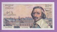 (Ref: J.10) 10 FRANCS RICHELIEU 5/03/1959 (NEUF-) ETAT RARE