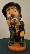 "Emmett Kelly Jr by Esco ""The Thinker Clown"" 1993"