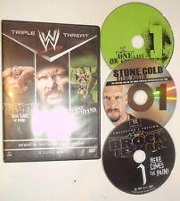 WWE: Men of Mayhem (DVD, 2014, 3-Disc Set) Brock Lesnar, Steve Austin, DX