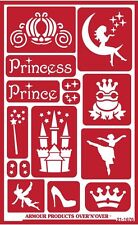 Armour Reusable Over n Over Glass Etching Stencil - ONO  Fairytales