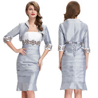 PLUS SIZE 20 22 24 26 Mother of the Bride/Groom Dress Women Formal Party Banquet