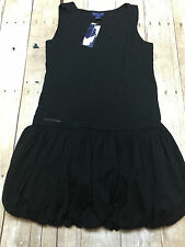 RALPH LAUREN POLO BLACK DRESS SKIRT GIRLS SIZE LARGE 12-14 NEW WITH TAGS