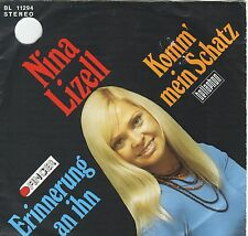 """""""7"""" - NINA LIZELL - Komm mein Schatz"""