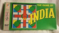 Vintage 1975 The Game of India Board Game by Milton Bradley