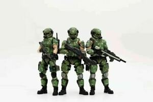 JoyToy 1/18 Russian Federation Camouflage Team PVC Action Figure Doll Toy