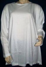 Tee-shirt Long BLEU-BONHEUR. Ouverture chaque coté 14 cm.  Taille 56.  Neuf+++