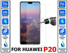 2x Genuine Ultra HD 100% TEMPERED GLASS Screen Protector Cover For Huawei P20