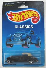 Hot Wheels MERCEDES 540K Classics Prenumber BP Black #5142 1988 MOC BW Vintage