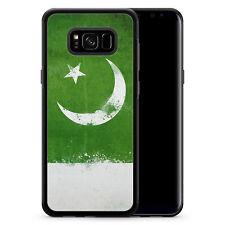 Samsung Galaxy S8 Plus - Hülle SILIKON Case Pakistan Grunge Cover Schale