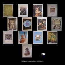 Catalogues de vente aux enchères ARTBOOK by PN