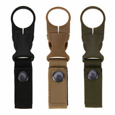 New listing Portable Outdoor Hiking Nylon Webbing Water Bottle Holder Buckle Clip
