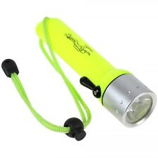 Torcia Led Subacquea TeKone Luce Waterproof Immersione Diving Sub Snorkeling hsb