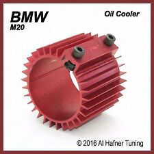 BMW M20 Oil Filter Cooler/Heat Sink Cover (Red)