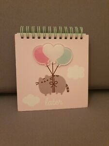 Official Pusheen The Cat Mini Sprial Notebook Note Book Journal Stationery