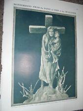 Printed photo sculpture Motherhood by Constantin Izenberg 1910 ref An