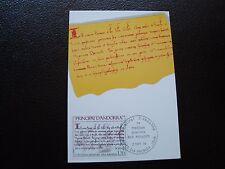 ANDORRE (francais) - carte 1er jour 2/9/1978 (B6) andorra