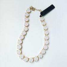 J.CREW Translucent stone necklace vanilla colour Item 59823
