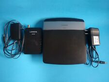 Linksys N600 Dual Band Wireless Wi-Fi Router 300 Mbps 4-Port 10/100 + Free Modem