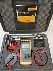 Fluke 1621 GEO Earth Ground Resistance Tester  -->>Calibrated<<--