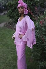 Traditional 3 piece Pink suit