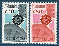 ANDORRE TIMBRES 179-180 NEUF XX QUALITE LUXE - EUROPA 1967