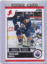 """10-11 Score Taylor Hall """"Rookies and Traded"""" Rookie Card RC #560 Mint"""