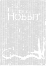 Spineless Classics The Hobbit Complete Full Book Novel Text Poster Art Print