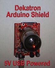 Dekatron Arduino Shield Kit - Parts & PCB - A101 Socket 5V in (No Tube) AD01