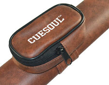 CUESOUL Russian Billiard Cue Case For 160cm Russian Pool Cue Brown Cue Case
