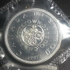 Canada >1964+Dollar Proof  Subject: Charlottetown  0.8000 Silver