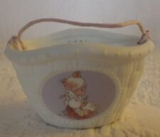"1994 Precious Moments Basket Goose 2"" Tall"