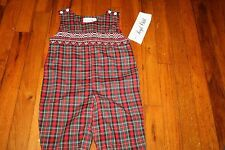 Smocked Royal Child boys long-all 3 month NWT!  cute for Christmas!