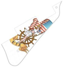 Pickguard Pick Guard Graphical Scratchplate Gibson Les Paul Guitar PU USA Pat WH