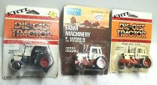 3 Vintage 1/64 Case Tractor Agri King + 2294 + Rare Farm Machinery Of The World