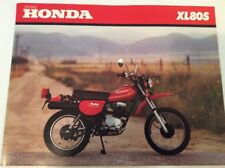 NOS Honda 80 1980 XL80S XL80 Sales Brochure Ad Advertisement ORIGINAL