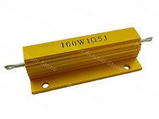 2pc 1.5Ohm Ohms 1R5J 100W Watt Metal Heatsink Case Wirewound Resistor Resistors