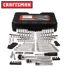 Craftsman 165 pc. Mechanics Tool Set Standard Metric Socket Ratchet Wrench 20165