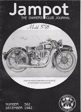 *THE JAMPOT - THE OWNERS CLUB JOURNAL - No 362 - DECEMBER 1982 [NB]