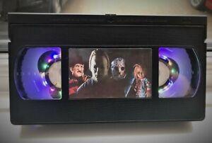 Halloween VHS Night Light, Horror Movie, Bed Light, Desk Light, Cartoon, TV