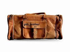 Gym Weekend Overnight Bag Men's Dashing Genuine Leather Vintage Duffel Travel