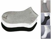 12 Pairs Toddler Socks 4T 5T Size 4-6 Assorted White Black Gray