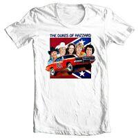 Dukes of Hazzard T-shirt 1980's retro TV show 70's General Lee 100% cotton tee