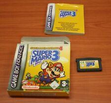 jeu Nintendo Game Boy Advance gba super mario bros 3