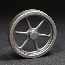 Schwungrad 80mm Stahlguss für Dampfmaschine, Stirlingmotor, Flammenfresser