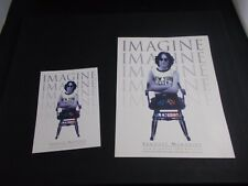* john Lennon art creations Biz cards - 2 ocs 1990s
