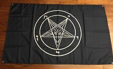 Baphomet Church of Satan Flag 3 ft X 5 ft  leviathan