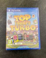 PS Vita Top Trumps Turbo PlayStation Vita Sony PSVITA Brand NEW Sealed FAST POST