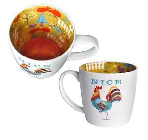 Mug ~ Ceramic Tea/Coffee ~ Inside Out Mug ~ NICE (Cock)