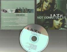 T.A.T.U. TATU Not Gonna Get Us w/ 2 RARE EDITS PROMO DJ CD single 2003 USA MINT